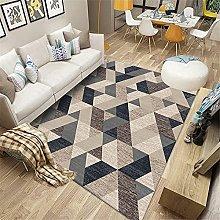 Kunsen rugs small Geometric salon sofa bedroom