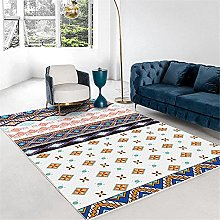 Kunsen Rugs Small Multi-color matching simple