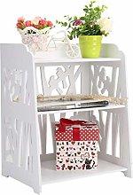 Kunyoxiu Bedside Table 40 * 30 * 50cm White Bed