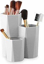 KUOZEN Makeup Brush Holder Pot Makeup Organiser