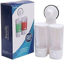 Kurelle Suction Cup, Shower Dispenser Double, Soap