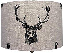 Kushade 12-Inch Fryetts Charcoal Stag/Deer Heads