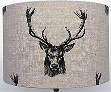 Kushade Ceiling Lampshade, Fabric, Charcoal