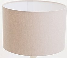 Kushade Lampshade/Ceiling Table, Cream Fabric