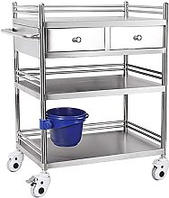Kutra Equipment Stainless Steel Carts With Drawers