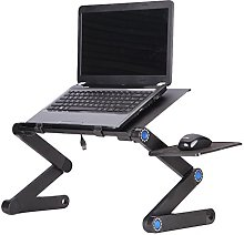 Kuuboo Folding Laptop Table Desk Tray Stand with