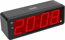 KWANWA Digital Desk Clock with 1.8 Inch Large