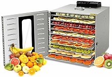 Kwasyo Stainless Steel Food Dehydrator with Free