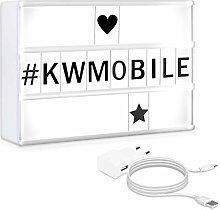 kwmobile A5 Cinema Light Box - Colour Changing LED