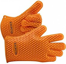 KXCFCYS® Heat Resistant Silicone Gloves Kitchen