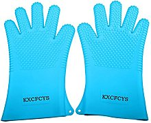 KXCFCYS Heat Resistant Silicone Gloves Kitchen