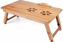 KYEEY LapdesksPortable Folding Lap Desk Bamboo