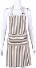 KYHS Striped Apron Household Waterproof and