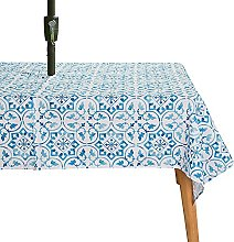 KYJSW Outdoor Table Cloth, Tablecover with Parasol