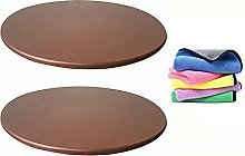 KYJSW Round Tablecloth, 2-piece Table Cover,