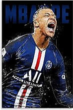 Kylian Mbappe 2 Canvas Art Poster and Wall Art