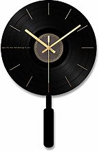 Kyman Wall clock Tempered Glass Dial Acrylic