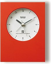 Kyra Wall Clock Mercury Row Colour: Red