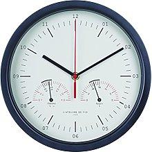 L'Atelier du Vin Hygro-Thermo Clock, Aluminum,