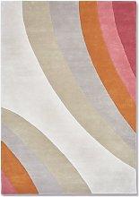 L'Eree Ochre Rug - 170 x 240 cm / Pink / Wool
