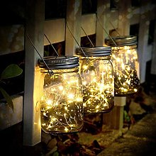 L.J.JZDY Mason Jar Lights Solar Mason Jar Lights 3