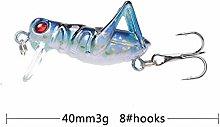 L-MEIQUN, 1Pc 3g/4cm Flying Jig Wobbler Fishing
