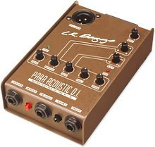 L.R.Baggs - Para Acoustic DI Preamp/ EQ/ DI-Box