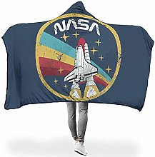 L.R.D Two Sizes Hooded Blankets NASA Stars Theme s
