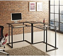 L-Shape Computer Desk Wrought Studio