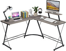 L-shaped Computer Desk PC Home Office Study Gaming