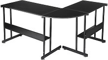 L-Shaped Corner Desk 147*112*95cm Black Gaming