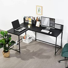 L Shaped Corner Desk Home Office Industrial Style