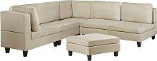 L Shaped Modern Modular Corner Sofa Polyester