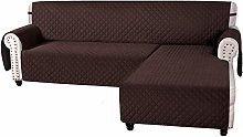 L Shaped Sofa Covers Corner Sofa Slipcover Quilted