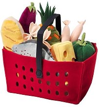 LÅTSAS - 12-piece shopping basket se