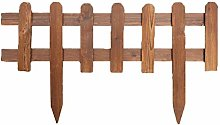 lā Vestmon Garden Fence, Pack of 6 Wooden Panel