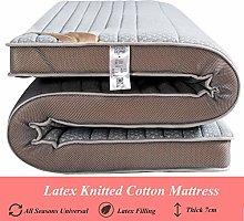 L-WWXXZY Latex Sleeping Tatami Floor Mat,