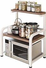 L-YINGZON Rack Rack Kitchen Rack Microwave Oven