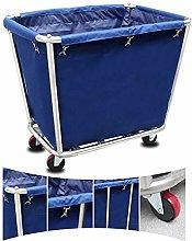 L-YINGZON Trolley Trolley On Wheels Blue Hotel
