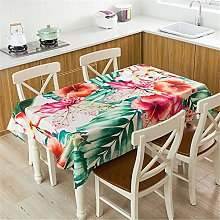 L.Z.HHZL Table Cover Linen Tablecloth Waterproof