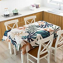 L.Z.HHZL Table Cover Waterpoof Linen Table Cloth