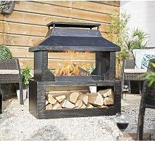 La Hacienda 58281 Stonehurst Fireplace Firepit