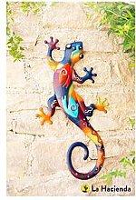 La Hacienda Aztec Lizard Wall Art