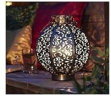La Hacienda Morocco Globe Medium Lantern