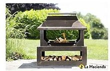 La Hacienda Stonehurst Outdoor Heater With Logstore