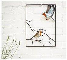 La Hacienda Tree Top Robin Wall Art