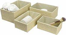 La Jolíe Muse Storage Baskets Set 4 - Stackable
