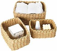 La Jolíe Muse Woven Storage Baskets, Recycled