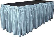 LA Linen Bridal Satin Table Skirt 30 Foot by
