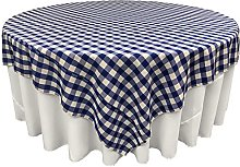LA Linen GINGHAM Chequered Square Tablecloth,